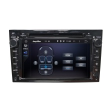 Black Opel VECTRA 2005-2008 car dvd player