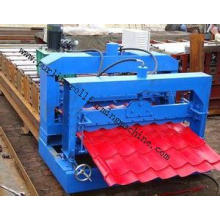 Metal Roof / Color Steel Glazed Tile Roll Forming Machine ,