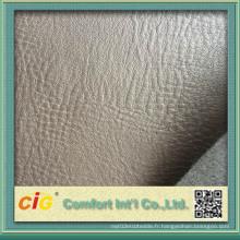 Tissu en similicuir pour la fabrication de meubles