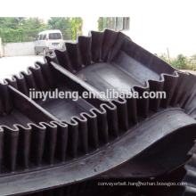 Corrugated Sidewall Conveyor Belt for Mine