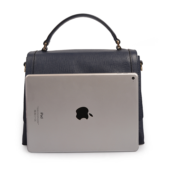 Newest design real leather ladies tote bag