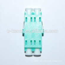Aqua Color OM3 LC Glasfaser-Adapter
