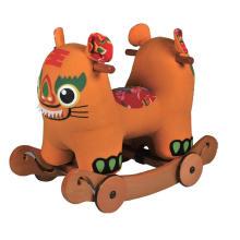 Rock & Ride en el caballo Toy-Tiger