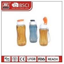 plastic material food grade water bottle,drinking bottle