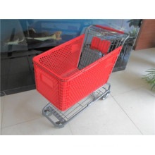 Supermarket Plastic Shopping Trolleys for Sale