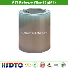 Película de liberação de PET revestida de silicone 5g Força de lançamento
