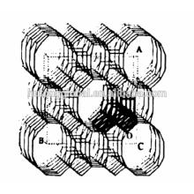 Mordenite (MOR) Tamis moléculaire SiO2 / Al2O3 = 25
