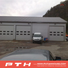 2015 estructura industrial de acero prefabricada Custormized diseño Warehouse de Pth