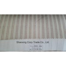 Nouveau tissu de rideau transparent Organza VoIP à rayures de projet populaire 0082106