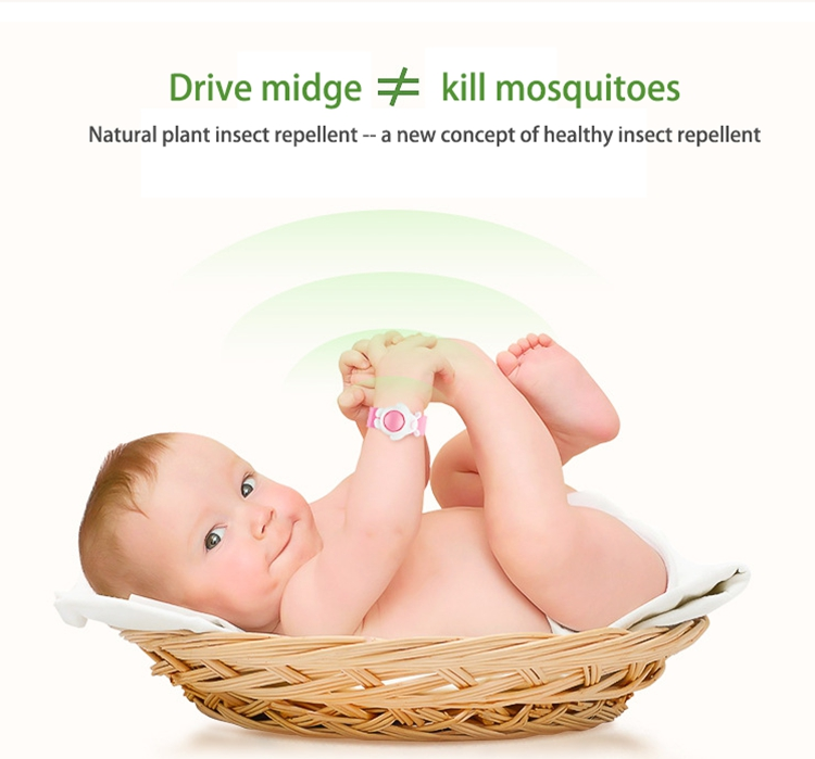 silicone mosquito baby straps