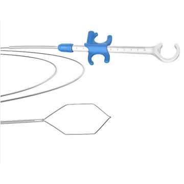CE-Kennzeichnung Edelstahl elektrochirurgische Polypektomie Snare