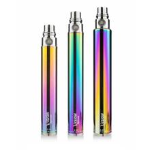 Cilindro Grade E Cigarro Variável Voltagem Bateria 1300mAh Rainbow Vision Spinner