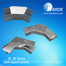 Sheet Cable Trunking 90 degree Gusset Bend External