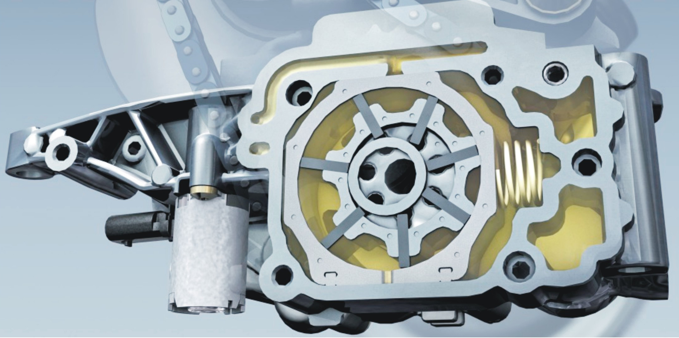 Automobile variable displacement vane pump