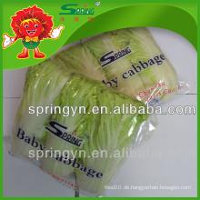 Gefrorene chinesische Babykohl (GROSS) gesundes grünes Essen