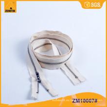 Metal Zipper cinta de algodón teñible para los pantalones vaqueros ZM10007