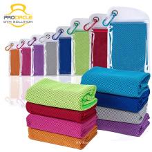 Тренажерный зал фитнес-Йога ткани микрофибра охлаждения льда полотенце для спорта