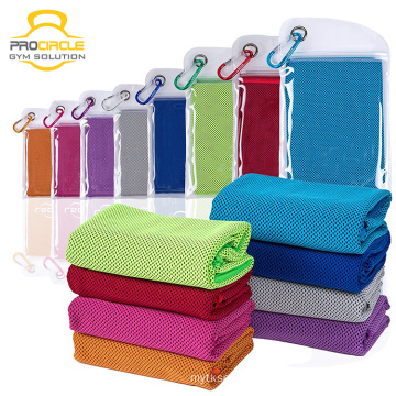 Gym Fitness Fabrics Yoga Microfiber Ice Cooling Towel for Sports