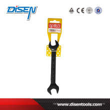 Plastic Ring European Black Double Open End Wrench