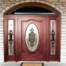Твердый Mahogany/ Окуме Внешней/ Вход/ Входная Дверь 40040