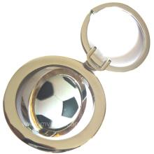 Metal Foot Ball Keyring