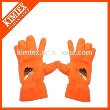 Embroidery Logo Cheap Wholesale Fleece Gloves