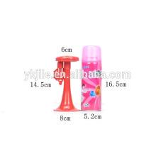 Súper Venta barato decoración del partido barato cuernos de plástico cuerno de aire de fútbol de juguete