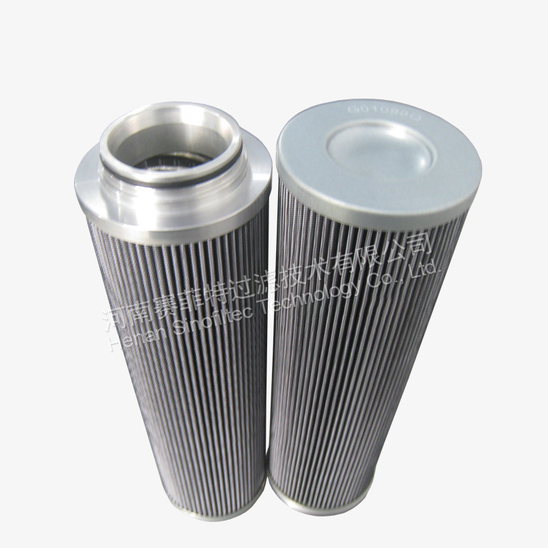 Replacement of the PARKER G01098Q Hydraulic Oil Filter Element