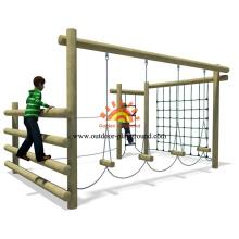 Outdoor Children Playground Climbing Net For Sale