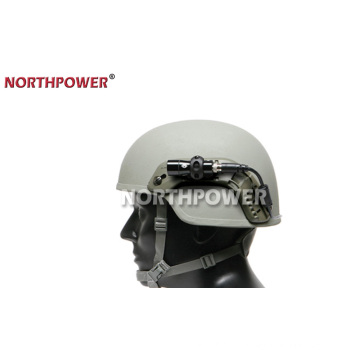 Suporte de luz de flash de capacete