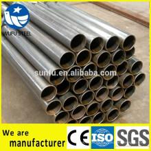 Tubo de acero en forma de ERW de ASTM para barreras de seguridad