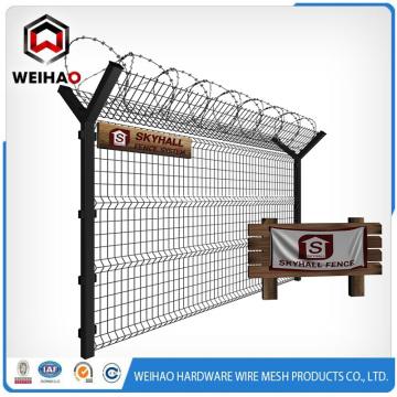 Galvanized and PVC Coated Fence Netting