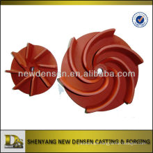 Precision Casting Cast Iron Pump Impeller
