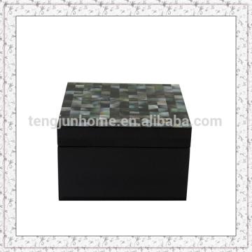 Boîte à bijoux noir