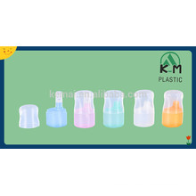Botella de plástico de la bomba, envases de cosméticos botellas con bomba 15-50ml