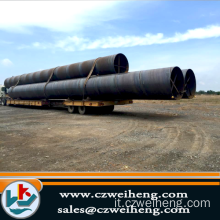 API 5L GR.B PSL1 Lsaw Steel Pipe with Black