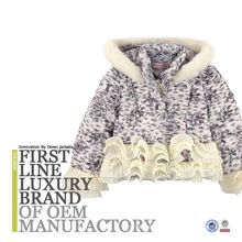 Fancy Children Winter Jacket in Western European Style 2017 Down Feather Filling