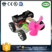 DIY Wind Power mini carro ciência e tecnologia de fabricação modelo para a educação