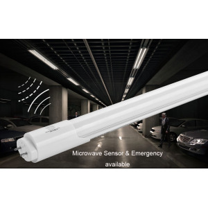 Microwave Sensor & Auto Dimming T8 LED Tube
