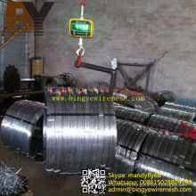 Hot-Dipped Galvanized Flate Wire for Trellis