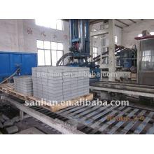 Usado concreto bloco oco tijolo máquina de fazer venda quente na Índia