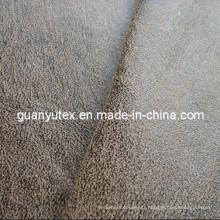 Tissu simili cuir suédé pour ameublement de bronzage utilise