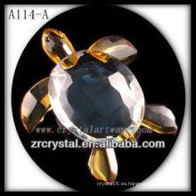 Bonita estatuilla de animales de cristal A114-A