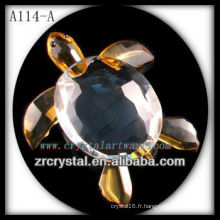 Belle figurine en cristal A114-A
