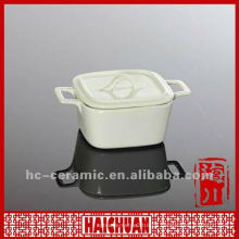 Keramik-Mini-Auflauf, Mini-Auflauf mit Deckel