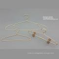 Горячие Продажа Медь латунь цвет вешалка металла Baby вешалка набор вешалки