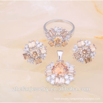 2018 indian imitation jewelry set imitation jewelry export Rhodium plated jewelry is your good pick