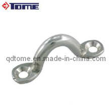Stainless Steel Cable Fitting Saddle - Wire Eye Strap