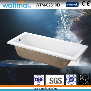 Baignoire d'entrée simple de haute qualité (WTM-02819D)