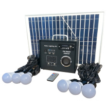 30w Mini Fm Solar Radio Lighting Kit
